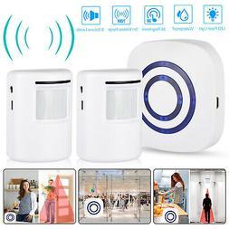 Wireless Motion Sensor Alarm Home Security Doorbell Driveway