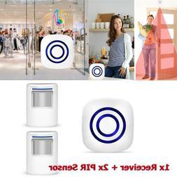 wireless motion sensor alarm home security doorbell