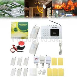 Wireless PIR Sensor Home House Security Auto Dialing Burglar