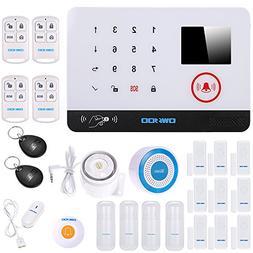 OWSOO Wireless Security Alarms 433MHz Wireless Wifi Alarm Se