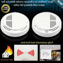 Wireless Smoke Detector Home Security Fire Alarm Sensor Syst