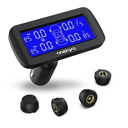 CACAGOO Wireless TPMS Tire Pressure Monitoring System with 4