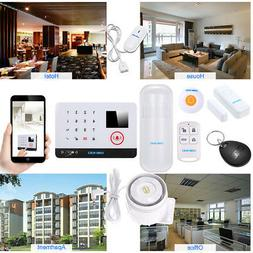OWSOO 433MHz WiFi Burglar Alarm System Touch Keyboard Interc