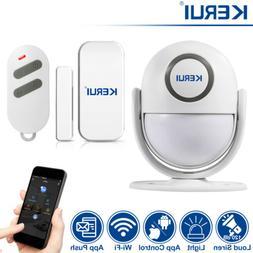KERUI WP6 Wifi Siren Door Sensor for House Security Alarm Sy