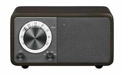 Sangean WR-7DK Wood Cabinet Mini Bluetooth Speaker with FM R