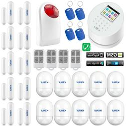 X35 KERUI APP WiFi GPRS IP GSM PSTN RFID Wireless Home Secur