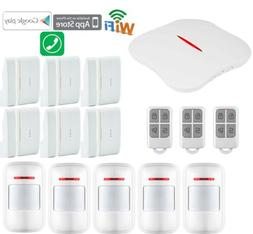 X81 KERUI W1 IP WiFi Cloud PSTN Wireless Kits Home Security