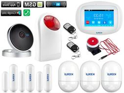 L89 KERUI APP WiFi GSM Wireless Home Security Alarm System+I
