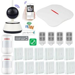 X89 KERUI APP WiFi PSTN Wireless Home Security Alarm Burglar