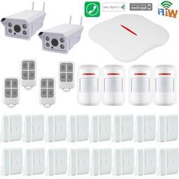 H57 KERUI APP WIFI PSTN Wireless Home Security Alarm System+