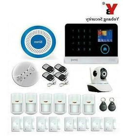 Yobang Security WIFI GSM Home Security Alarm System GPRS SMS