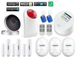 Z62 KERUI APP WiFi GSM PSTN RFID Wireless Home Security Alar